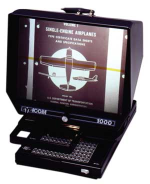 EC 1000 Portable Microfiche Reader